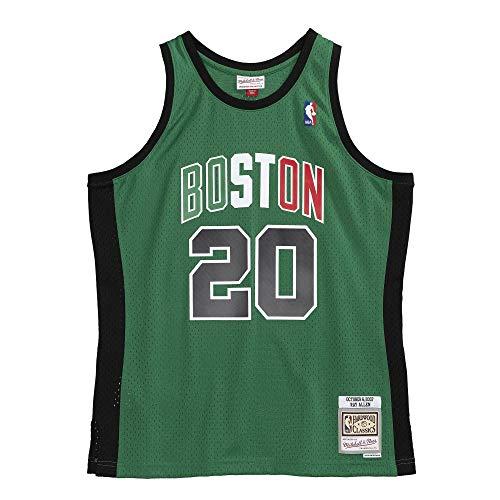 Mitchell & Ness NBA Ray Allen Boston Celtics 2007 Hardwood Classics Grün