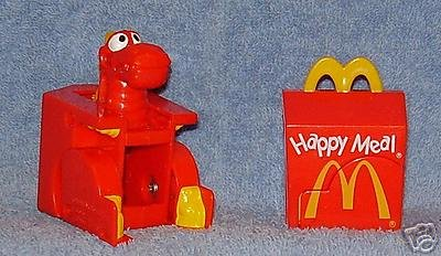 1991 McDonalds Happy Meal McDino Changeables - Happy Meal-O-Don