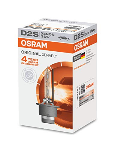 Osram 66240CLC Xenarc Original D2s, Xenon Scheinwerferlampe, 1er Faltschachtel