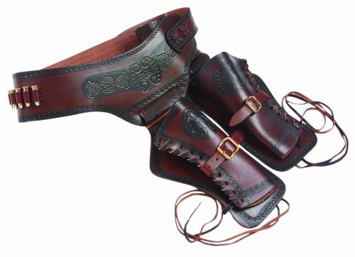 Denix Old West Double Rig Holster with Replica Bullets