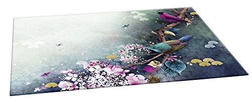 Clairefontaine 115595C Schreibunterlage Sakura Dream 60 x 40cm, glänzende Beschichtung, elegant, ideal für Ihren Schreibtisch, 1 Stück
