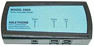 AblePhone AP5000 Voice Activated Telephone Dialer