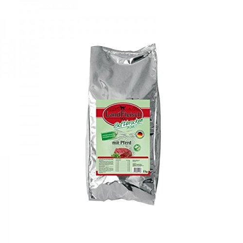 Landfleisch Dog Softbrocken mit Pferd getreidefrei, 1er Pack (1 x 5 kg)