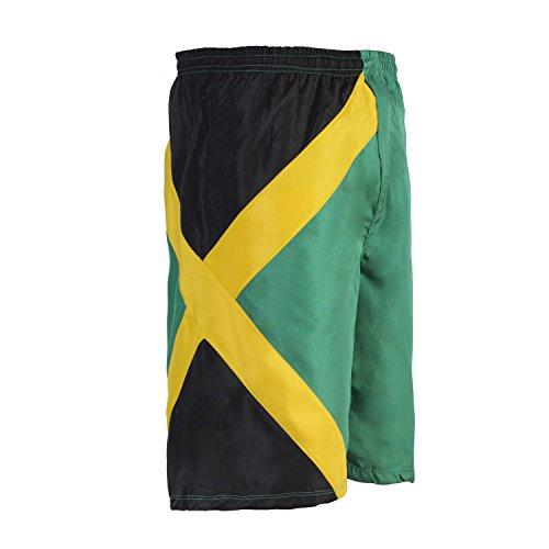 Reggae Männer Kreuzfahrt Schwimmen Trunk Sport Jamaika Bermuda Shorts Strand Hosen Hosen