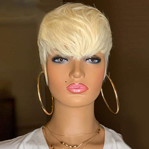 BeiSDWig Short Pixie Haircut Synthetic Short Wigs for Black Women Short Hairstyles for Women Wig Short Hair (BeiSDWig-7345A)