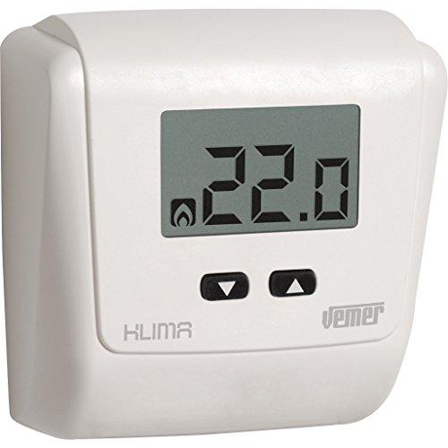 Termostato Klima LCD de Pared a Pilas
