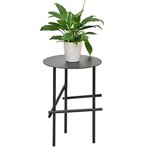 table basse Nordic Iron art Round moderne salon simple table basse côté canapé (Couleur : A)