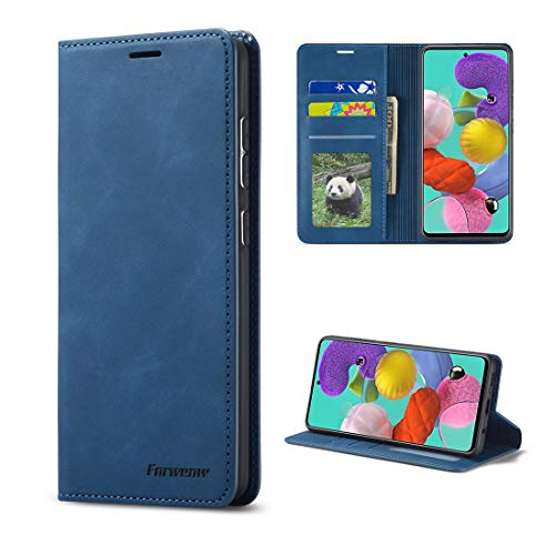 Para Samsung Galaxy A41 Flip Leather Wallet Case, Stand Wallet Phone Cover,Funda...