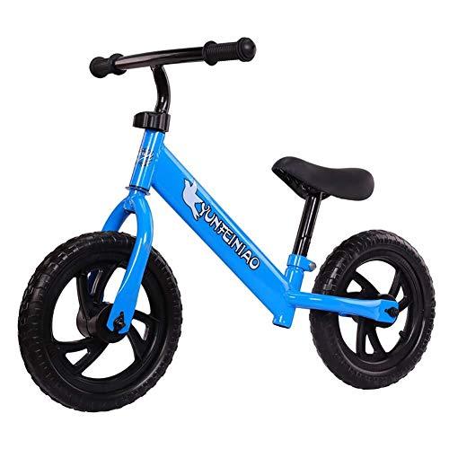 Gehhilfe Kinder Gleichgewicht Slide Auto ohne Pedal 2-Rad-Fahrrad 2-6 Jahre alt Baby-Roller-Stepper Unisex (Color : Blue)
