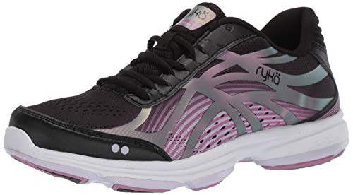 Ryka womens Devotion Plus 3 Walking Shoe, Black, 8.5 US