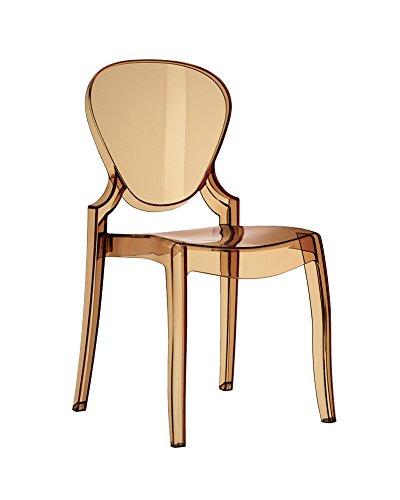 Pedrali QUEEN - sedia ambra 650