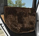 Plush Paws Products Basic Car Door Covers for Dogs, Fits Most Vehicles (Black) - USA Based