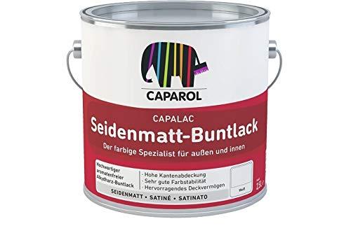 Caparol Capalac Seidenmatt Buntlack 375ml Lichtgrau RAL 7035