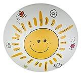 Niermann Standby Kunststoff Deckenleuchte'Sunny' 681,Gelb, Mehrfarbig, Weiß