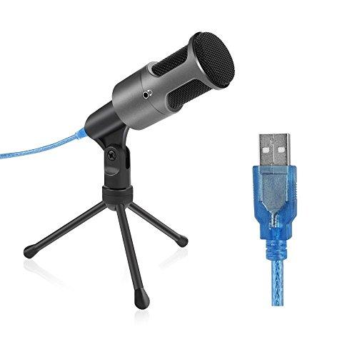 Microphone Usb Microphone Condenseur Filaire Micro...