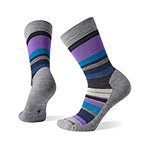 Smartwool Saturnsphere Crew Socks – Women's Medium Cushioned Merino Wool Performance Socks