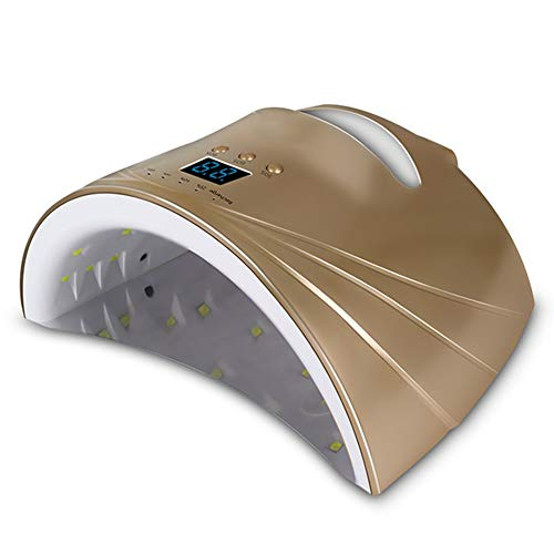 Lampes UV Batterie au lithium de dessiccateur portatif d'ongle chargeant la lampe de clou d'induction de source lumineuse double appropriée à toute la colle 110