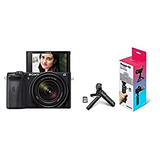 Sony Alpha A6600 Mirrorless Camera with 18-135mm Zoom Lens with Vlogger Accessory Kit (B089PNTSMX) | Amazon price tracker / tracking, Amazon price history charts, Amazon price watches, Amazon price drop alerts