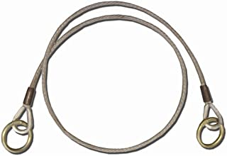 Guardian Fall Protection 10452 6-Foot Vinyl Coated Galvanized Cable Choker Anchor with 2-1/2-Inch and 3-Inch Ends