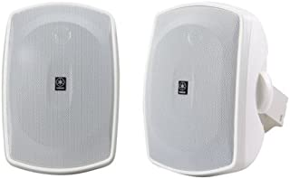 Yamaha NS-AW390WH 2-Way Indoor/Outdoor Speakers (Pair, White) (Discontinued by Manufacturer)