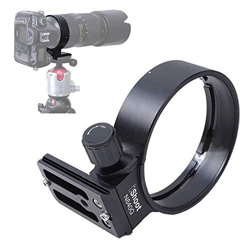 Ishoot qs-80 rápida liberación placa universal para cuerpo de cámara y lente