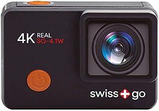 SWISS+GO Aventura 4K Real Videocámara SG-4.1W Wi-Fi 12MP Touch 2