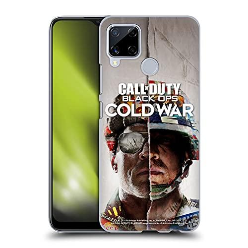 Head Case Designs Licenza Ufficiale Activision Call of Duty Black Ops Cold War Primario Arte Chiave Cover Dura per Parte Posteriore Compatibile con Realme C15