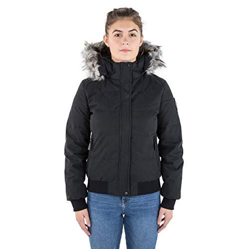 Trespass Kendrick Warm Waterproof Down Chaqueta con capucha extraíble. Mujer