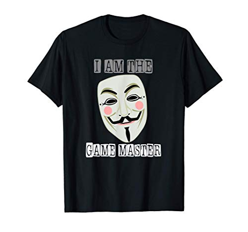 Anonymous Mask Project Zorgo Game Master T-Shirt