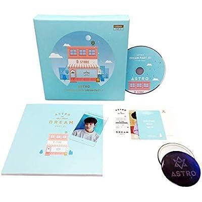 ASTRO 4TH MINI ALBUM DREAM PART.1 1 CD+BOOKLET+PHOTO CARD