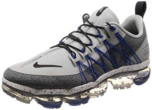 Nike Men's Air Vapormax Run Utility, Light Silver/Dark Grey Size US 9.5