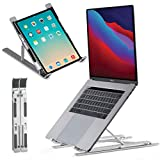 Laptop Stand for desk, Adjustable Computer Stand for All Laptops and MacBook Pro, Air 13 15 17...