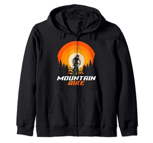 Bicicleta de montaña Retro Sudadera con Capucha