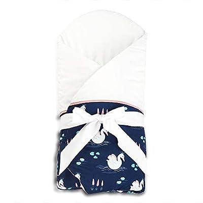 Sevira Kids - Manta de arrullo (con colchón de repuesto removible), varios colores