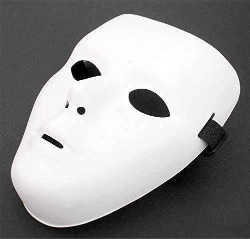 TK Gruppe Timo Klingler 12x Maske Theathermaske zum bemalen unbemalt basteln Anonymous Masken - Karneval & Fasching & Halloween