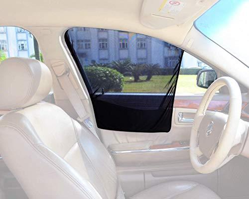Bayan Front Side Window Sun Shade Car Window Shade Driver Side Window Sunshades-2 Pack