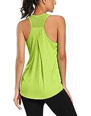 Workout Tank Tops for Women Racerback Sports Shirts Mesh Bac
