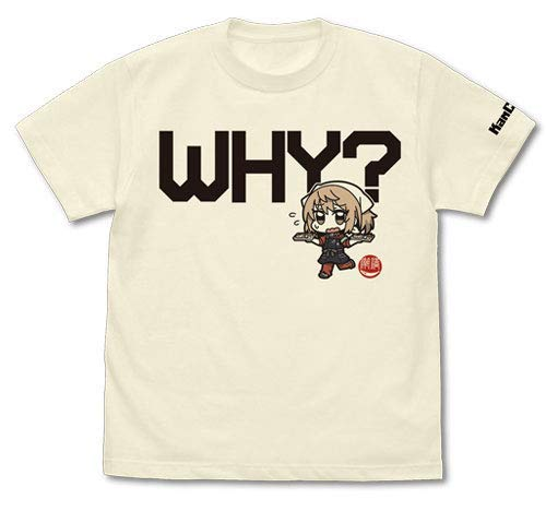 艦隊これくしょん -艦これ- なんで?な満潮の秋刀魚mode Tシャツ/VANILLA WHITE-XL