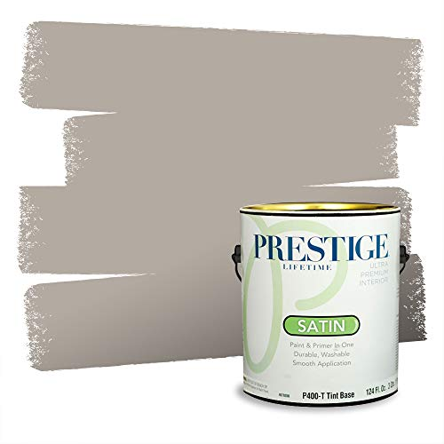 Prestige Paints P400-T-6004-1CVP Paint and Primer In One, 1 gallon, Montpelier Ashlar Gray