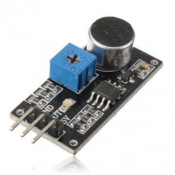 Hoge Kwaliteit Geluid Detectie Sensor Module LM393 Chip Electret Microfoon Voor Arduino