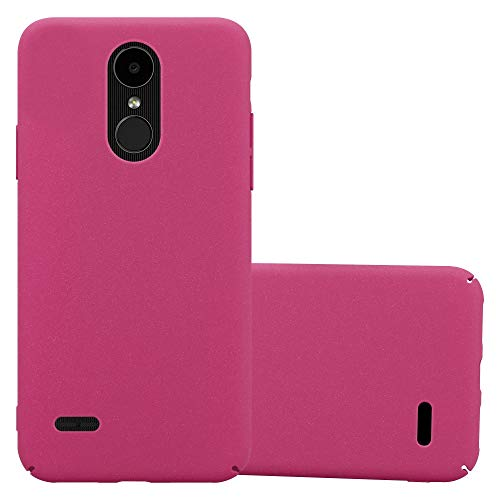 Cadorabo Custodia per LG K4 2017 in FROSTY ROSA - Rigida Cover Protettiva Sottile con Bordo Protezione - Back Hard Case Ultra Slim Bumper Antiurto Guscio Plastica