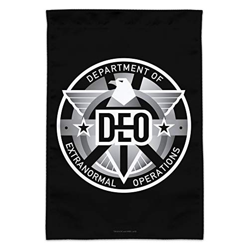 GRAPHICS & MORE Supergirl TV-Serie DEO Department of Extranormal Operations Emblem Garten Hof Flagge Flag Only (No Pole) Multi