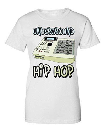 Underground Hip Hop Sampler Camiseta de Mujer Medium