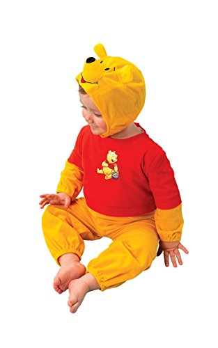 Rubie's-déguisement officiel - Disney- Déguisement Costume Classique Winnie -Taille TOD- I-885817TOD