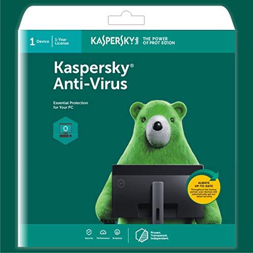Kaspersky Anti-Virus Latest Version – 1 Device, 1 Year (CD)