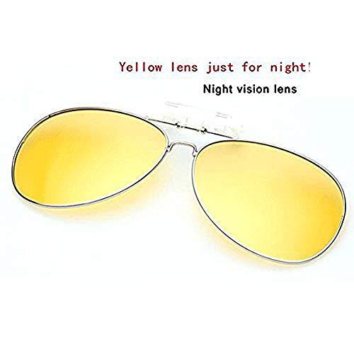 オーバーサングラス クリップオン サングラス 跳ね上げ 偏光サングラス クリップ UV400 夜間運転 偏光スポーツサングラス 偏光レン ズ メガネの上からつけられる 付きサングラス 偏光クリップ眼鏡 紫外線カット 前掛けクリップ式サングラ ス 収 納ケー