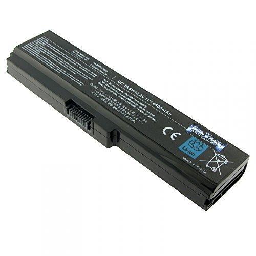 MTXtec batterie pa3817U - 1BRS, pa3817U - 1BAS, 10,8 v, li-ion (4400mAh, 48 wH) noir pour toshiba satellite pro l 770–14H remplace adapté au toshiba satellite a660 a660D, a665 a665D c645D, c655 c650 c650D, c655D, c675 c675D, l630, l635, l640 l640D l645, l645D l650 l650D l655, l655D, l670 l670D l675 l675D, l730/l735/l740 l745, l745D l770 l775D, m640 m645 p740 p745 p745D, -, p750 p755 p755D p770, p770D p775–p775D et toshiba satellite c650 l630 pro, l640, l670 l740 l770 et similaires
