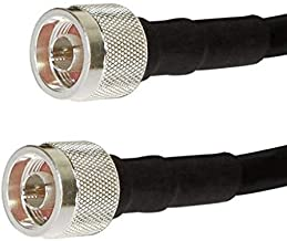 RSRF N-Type LMR600 Coaxial Cable with N-Male Connectors...