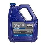 Polaris Blue Synthetic Blend 2-Cycle Oil 2-Stroke Snowmobiles, 2882202, 1 Gallon