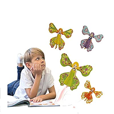 Amazon - Save 80%: Flying Butterfly Cards Wrap Magic Flying Butterfly Clockwork Rubber Butterfly